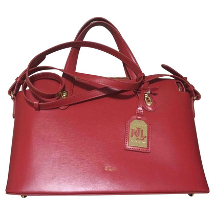 Ralph Lauren Red handbag