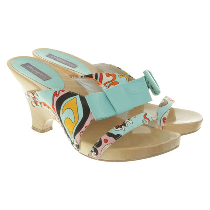 Emilio Pucci Kitten heels in Multicolor