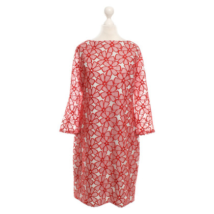Diane von Furstenberg Lace dress in red