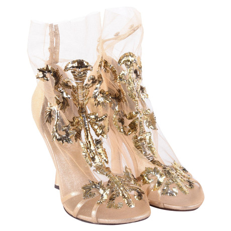 cdcb09077e Dolce & Gabbana Pumps im Barock-Stil Gold Niedrig Kosten Günstig Online  Auslass Besuch Neu