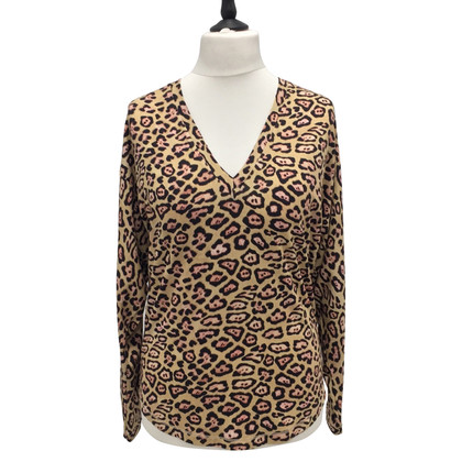 Givenchy Leopard viscose trui