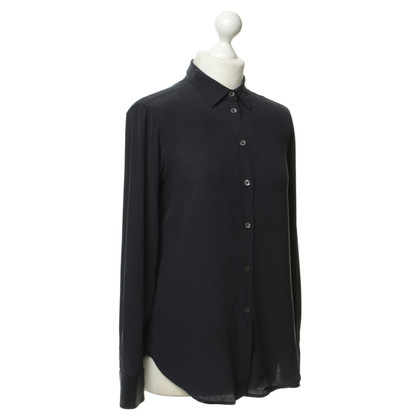 Filippa K Blusa in seta blu scuro