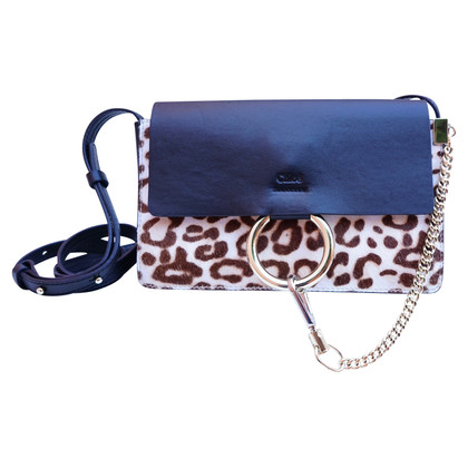 "Chloé Leopard ""Faye Bag Small"""