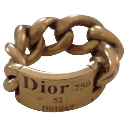 Christian Dior Anello Gourmette
