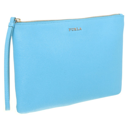 Furla clutch in blue