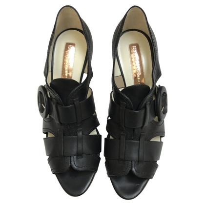Rupert Sanderson sandales noires