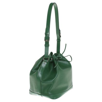 """Louis Vuitton """"Petit Noé Epi leder"""" in het groen"""