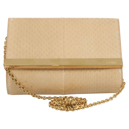 Fendi Snake leather evening bag