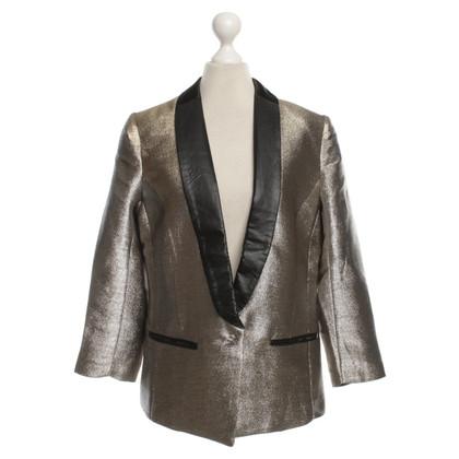 Munthe Blazer in Silber/Gold