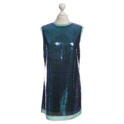 Marc by Marc Jacobs Paillettenkleid in Blau