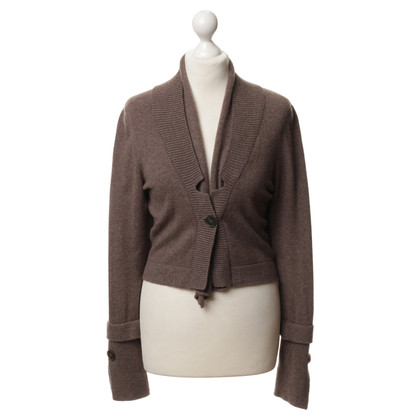 Brunello Cucinelli Cardigan in Braun