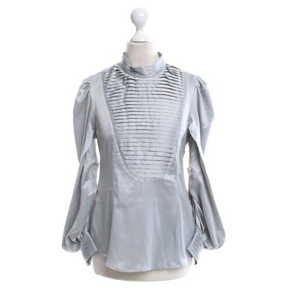 Calvin Klein Silk blouse in grey