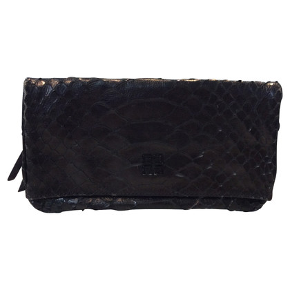 Givenchy clutch from python leather