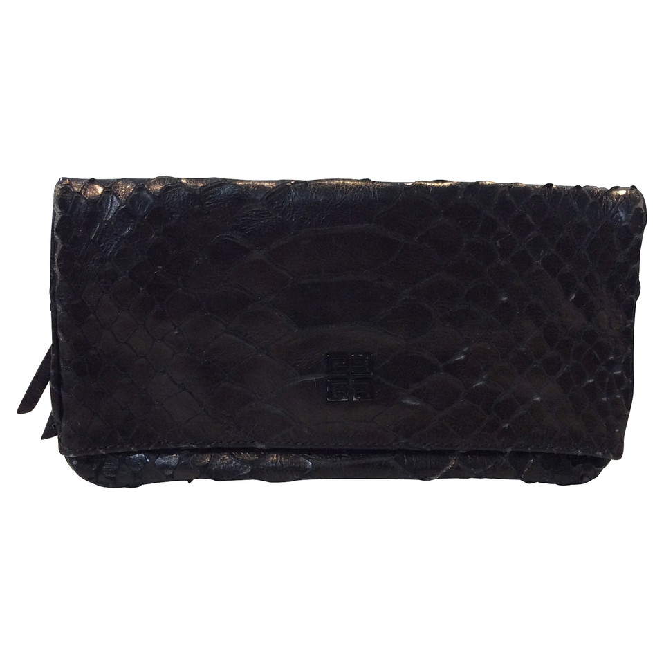 Givenchy Clutch aus Pythonleder