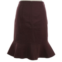 Dorothee Schumacher skirt in Bordeaux