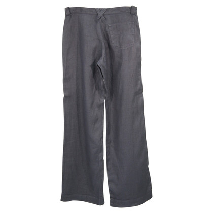 Armani Jeans Linen trousers in dark blue