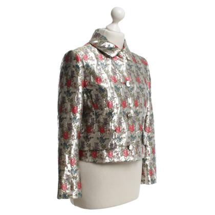 Miu Miu Jacke mit Jacquard-Muster