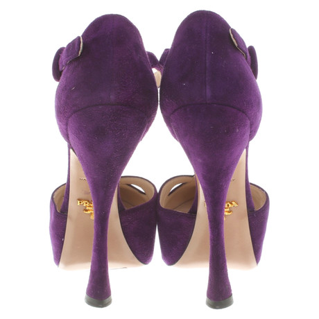 Violett Pumps in Prada Prada Pumps Violett RHwUa4qxp