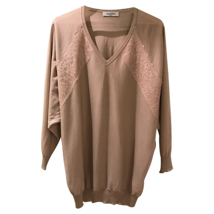 Valentino Sweater with lace detail