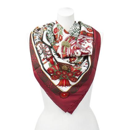 "Hermès Silk scarf ""D'ecoupages"""