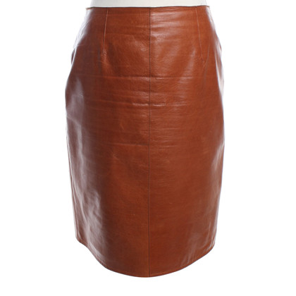 La Perla skirt in leather