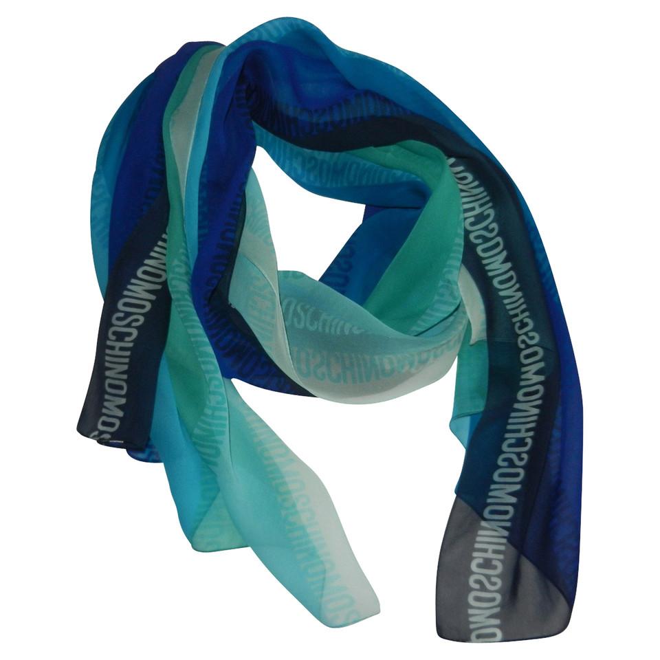Moschino silk scarf