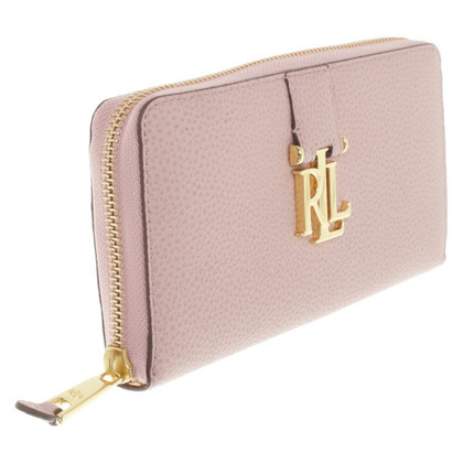 Ralph Lauren Wallet in Hellrosa