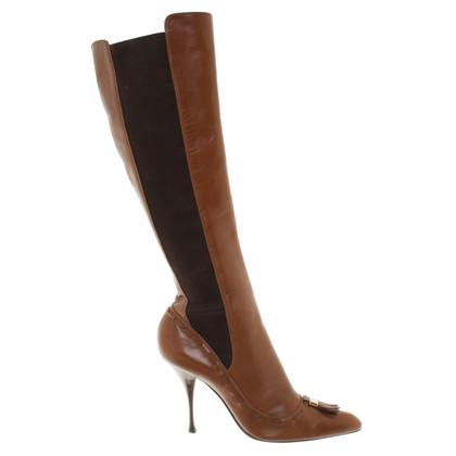 Yves Saint Laurent Stivali con tacco a spillo