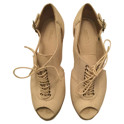 Kenzo Chaussures à lacets avec semelle plateforme