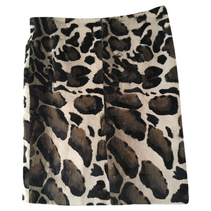 Airfield skirt with Animal Print
