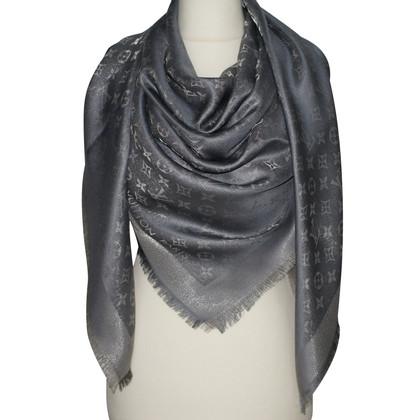 Louis Vuitton Monogram shine cloth in anthracite