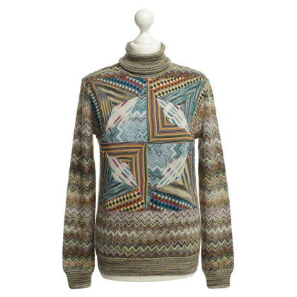 Missoni Wollpulover patroon