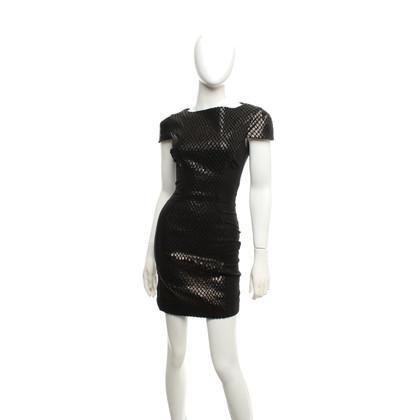 Elisabetta Franchi Dress with dandruff pattern