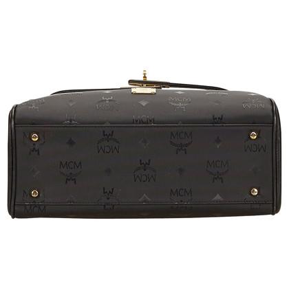 MCM MCM Visetos PVC Handbag