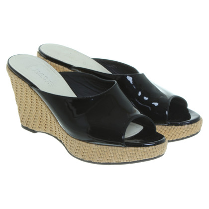 Bally Wedges in patent leather