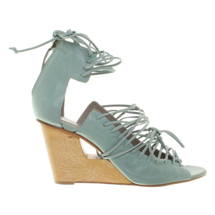 Finsk Sandals in mint green
