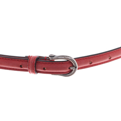 Post & Co Ceinture en rouge
