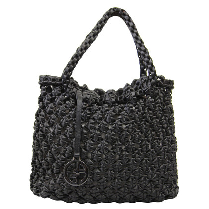 Giorgio Armani Handbag with braid pattern