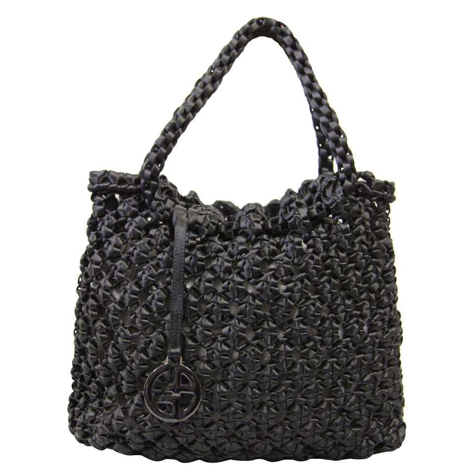 Giorgio Armani Handbag with braid pattern