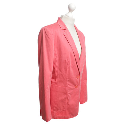 Nusco Blazer in Coral Red