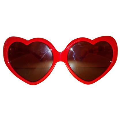 Moschino oversized zonnebril
