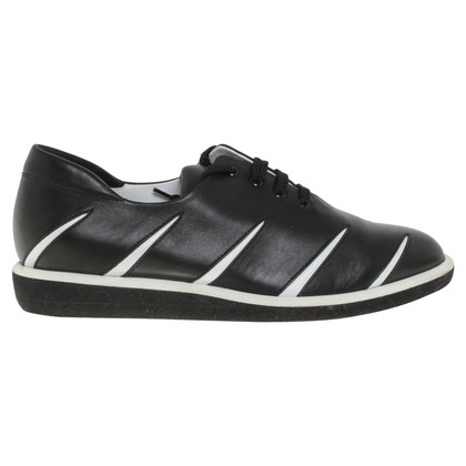 Walter Steiger Sneakers in black / white