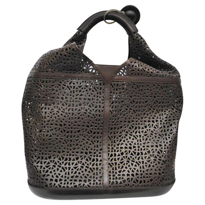 Walter Steiger Hobo bag with cut outs