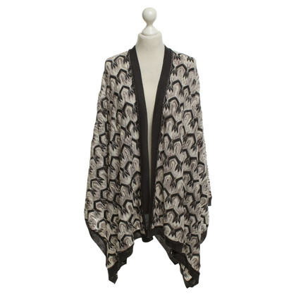Missoni Cape with pattern