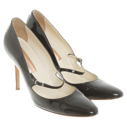 Rupert Sanderson Patent leather Mary Janes