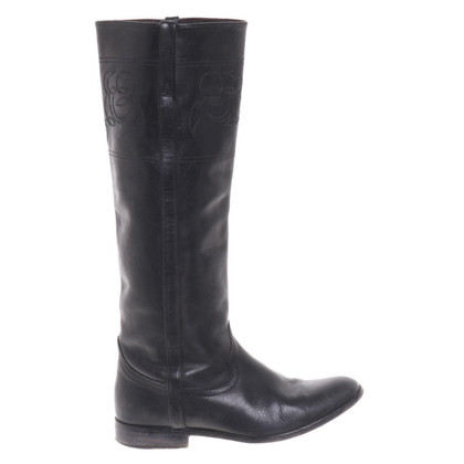 Golden Goose Boots in black