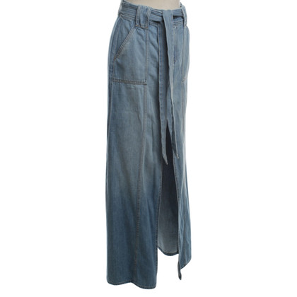 7 For All Mankind Jeans Rok blauw