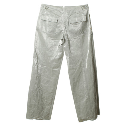 Armani Pantaloni in argento