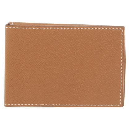 Hermès Porte-cartes en cuir Epsom