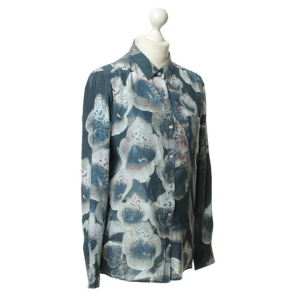 Closed Floral print zijden blouse